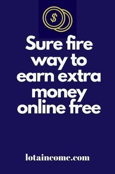 earn extra money online for free